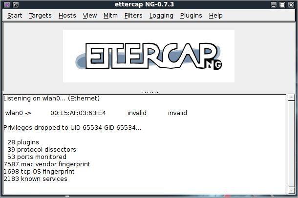 ettercap ng-0.7.3